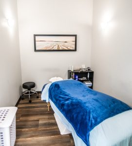 Custom Massage Therapy Bed Inside Action Physiotherapy, St. John's